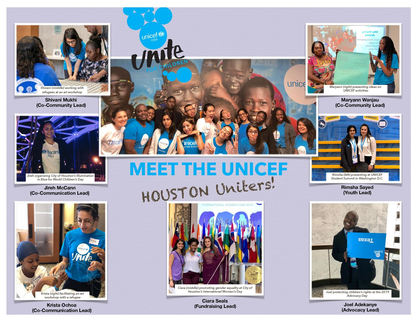 Join the Houston UNITE Council to say Farewell to our Coms Lead, Krista!