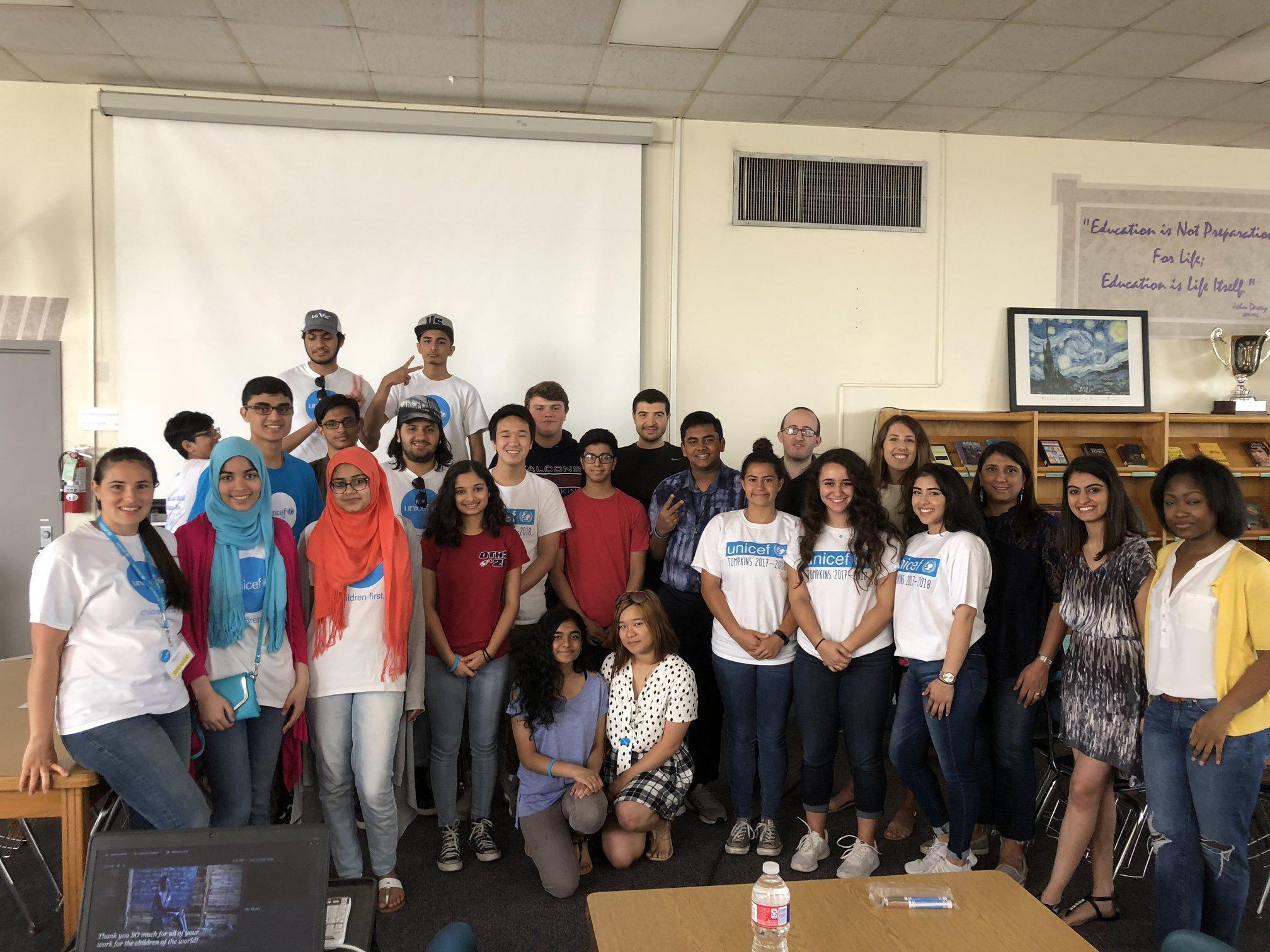 UNICEF UNITE Fall Meet & Greet