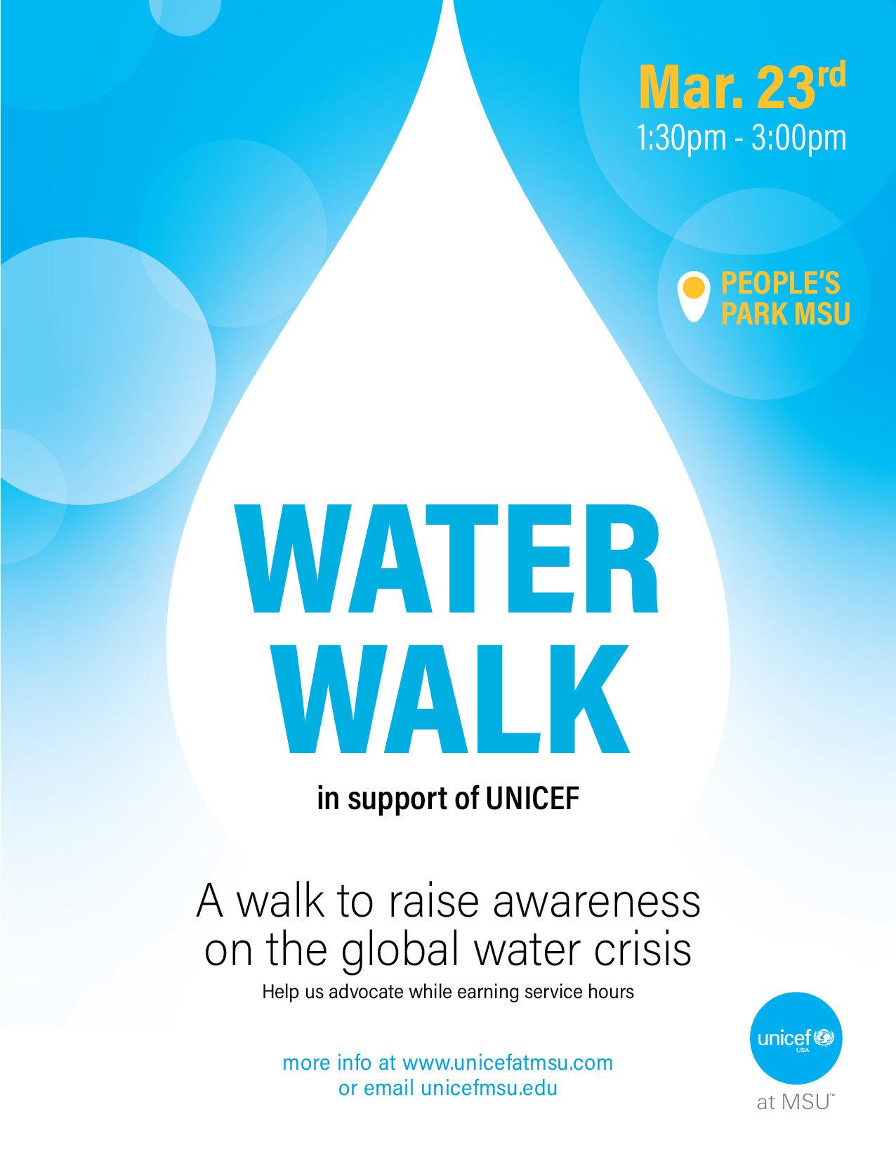 UNICEF Water Walk
