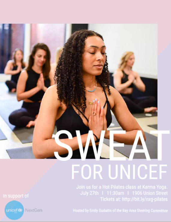 Sweat for UNICEF
