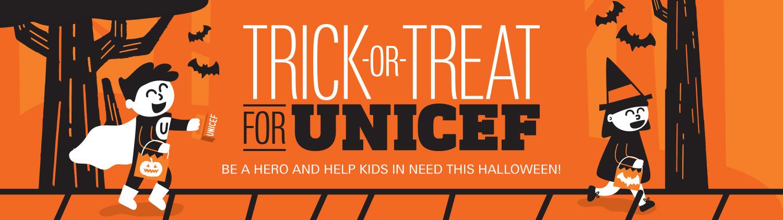 UNICEF  Trick-or-Treat Virtual Fundraiser