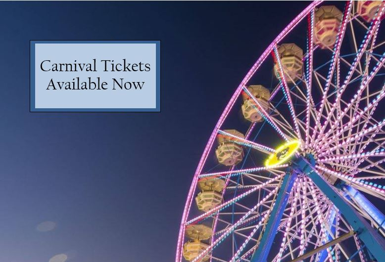 2019 Strawberry Festival - Carnival Wristbands