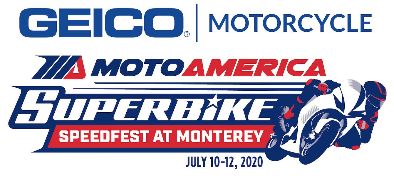 Geico MotoAmerica Superbike Speedfest at Monterey - October 23-25, 2020