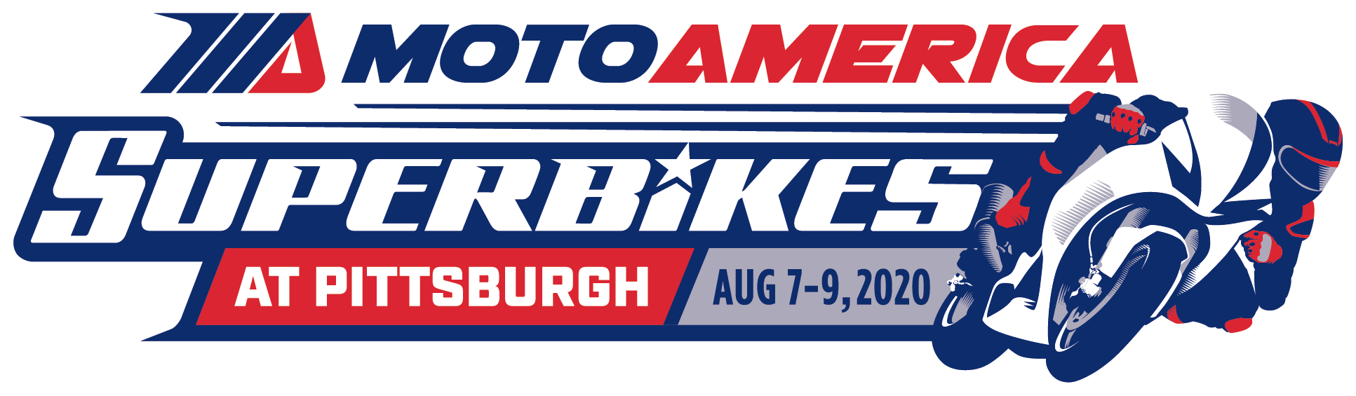 MotoAmerica Superbikes at Pittsburgh- August 7-9, 2020