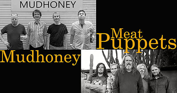 Mudhoney/Meat Puppets: Presented by AMP Concerts