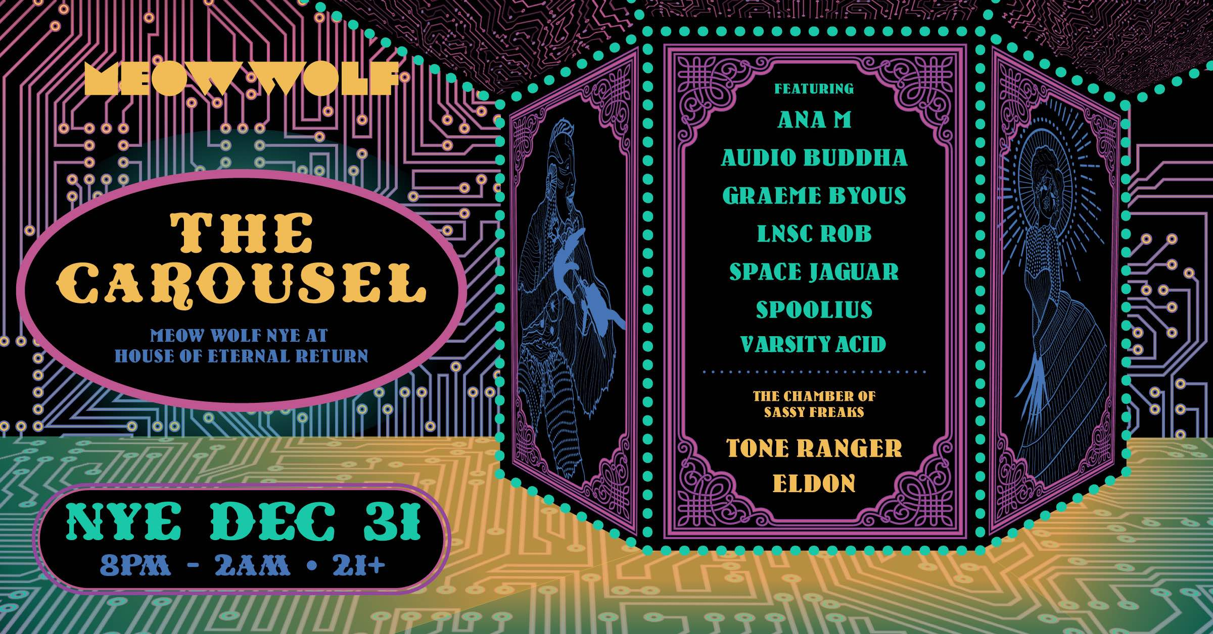 Carousel: NYE at House of Eternal Return