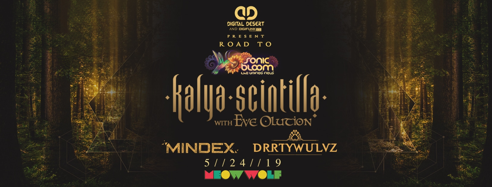 Road to SONIC BLOOM Kalya Scintilla with Eve Olution: Presented by Digital Desert & DigiFunk Systems