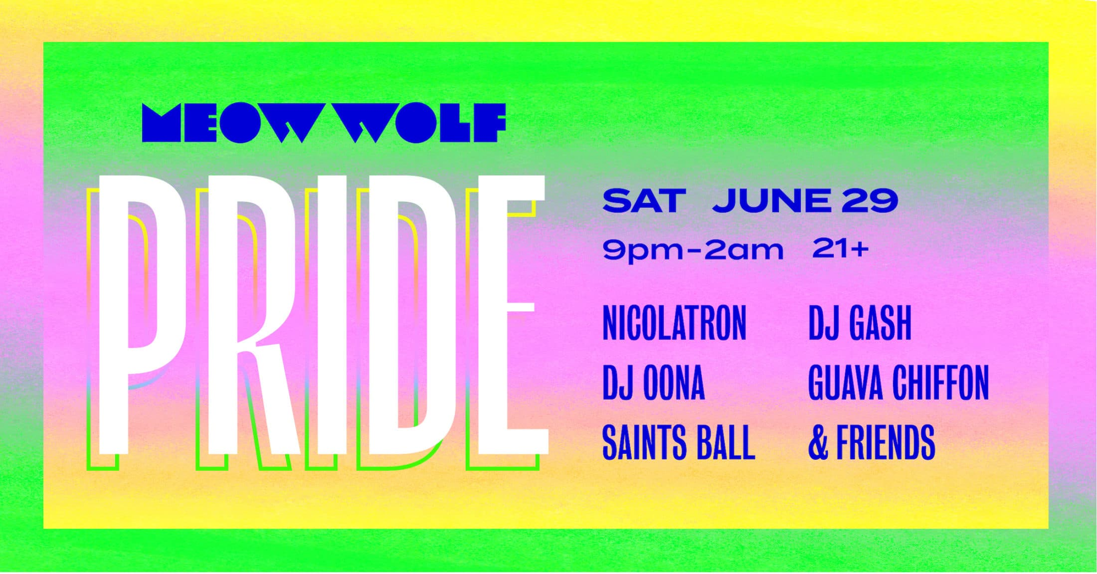 Meow Wolf Pride