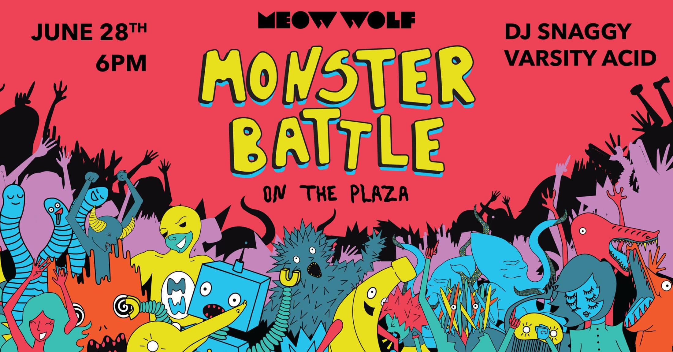 Monster Battle on the Plaza!