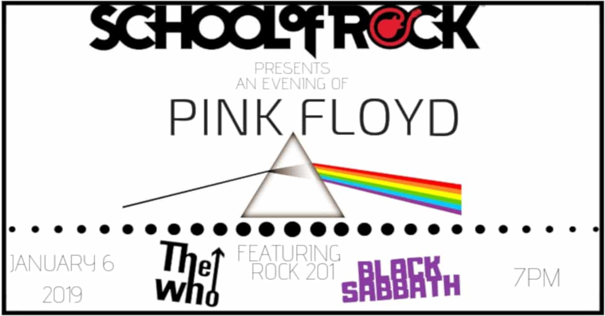 School of Rock Presents an Evening of Pink Floyd