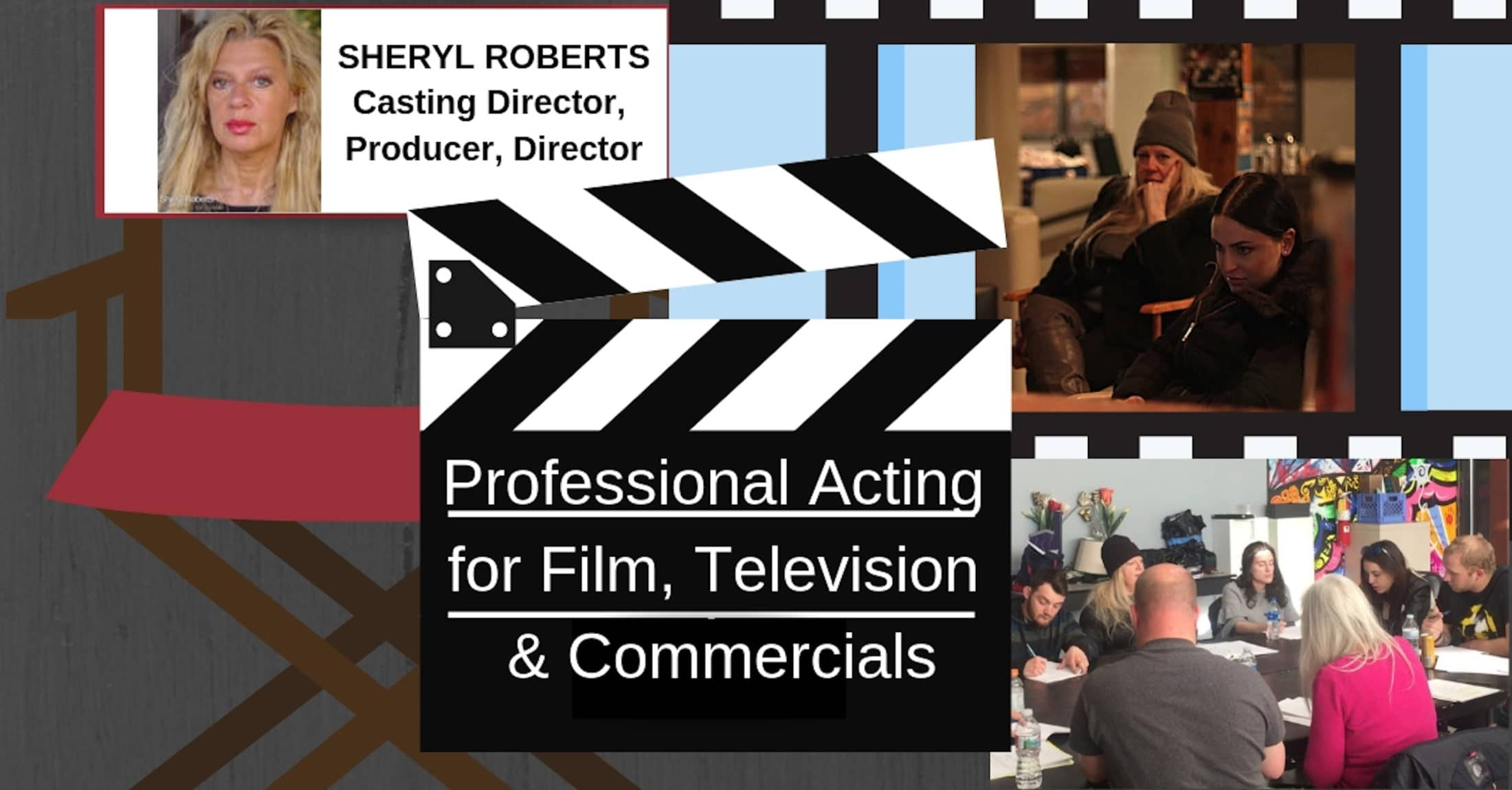 Professional Acting For Film, Television & Commercials
