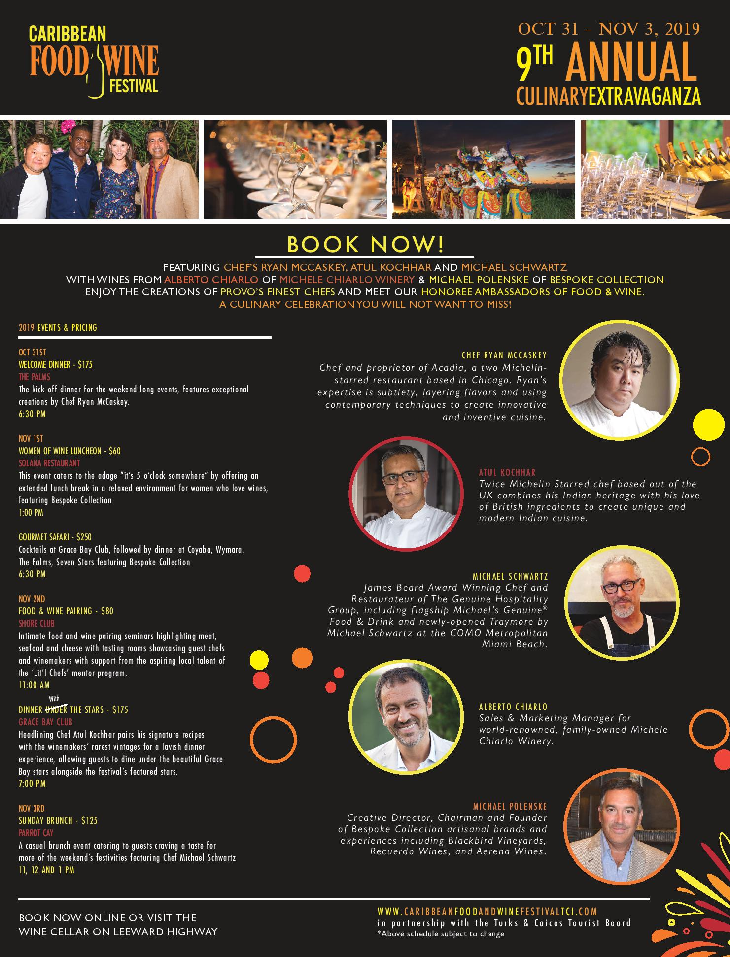 Caribbean Food & Wine Festival 2019 - Food & Pairing