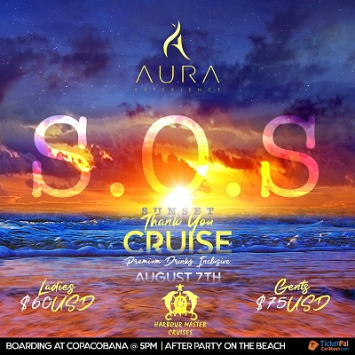 AURA S.O.S (Sunset Thank You Cruise)