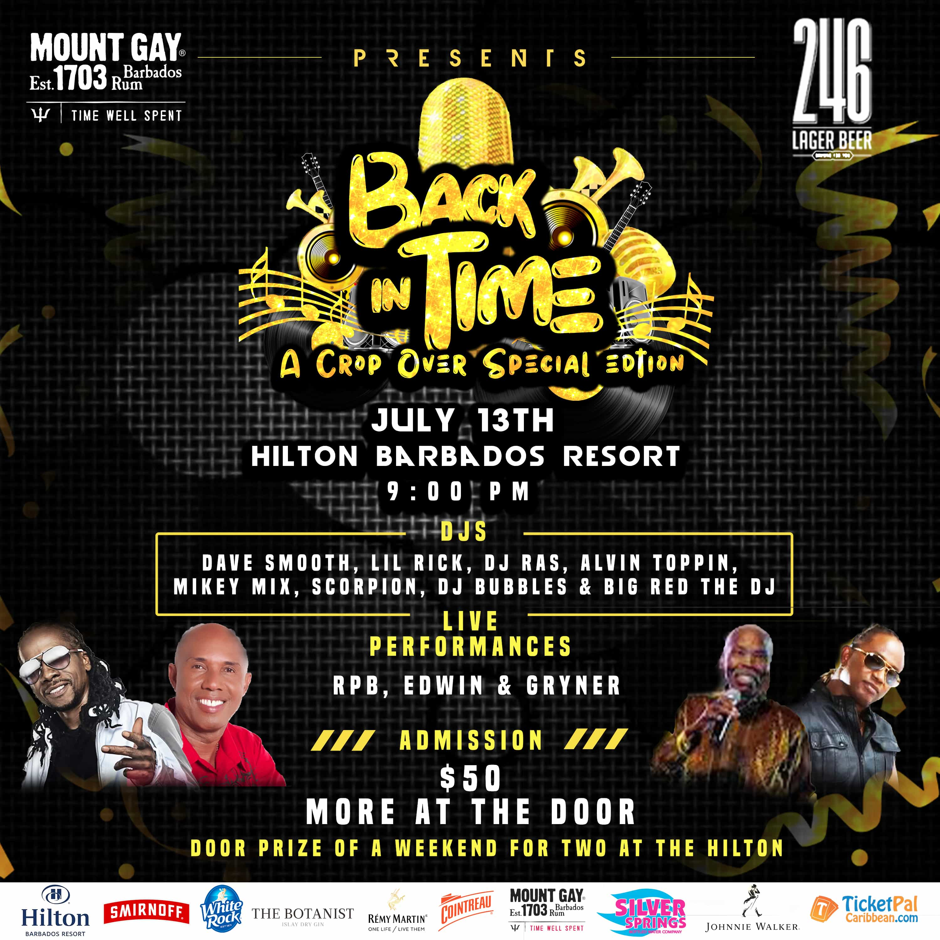 Ultimate Back in Time Party 2019