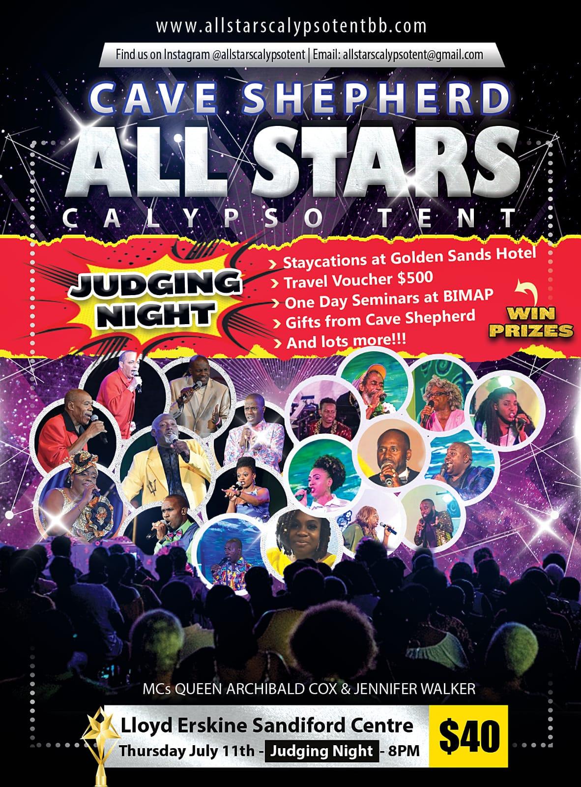 Cave Shepherd All Stars - Judging Night
