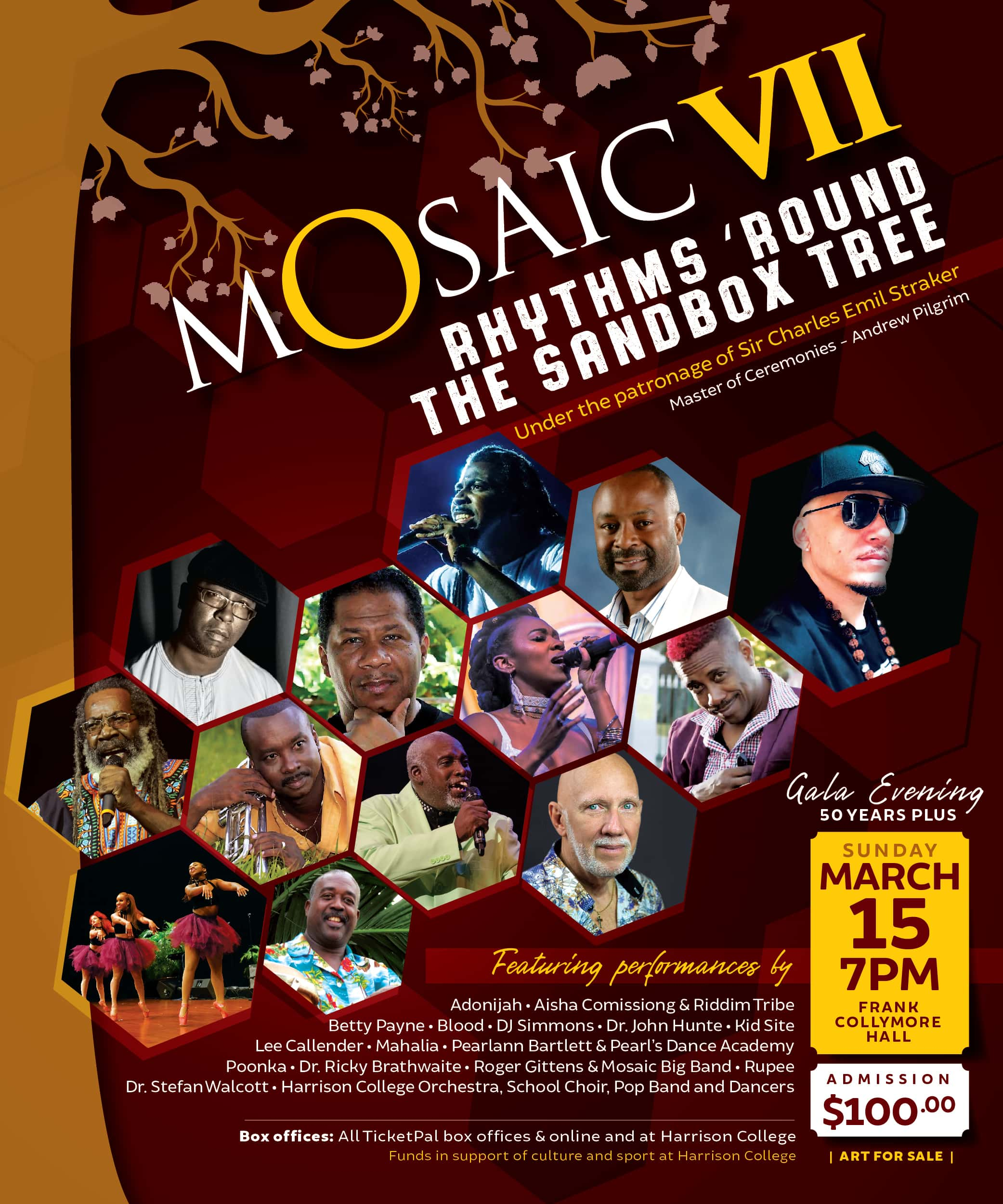 Mosaic VII: Rhythms 'Round the Sandbox Tree - Gala