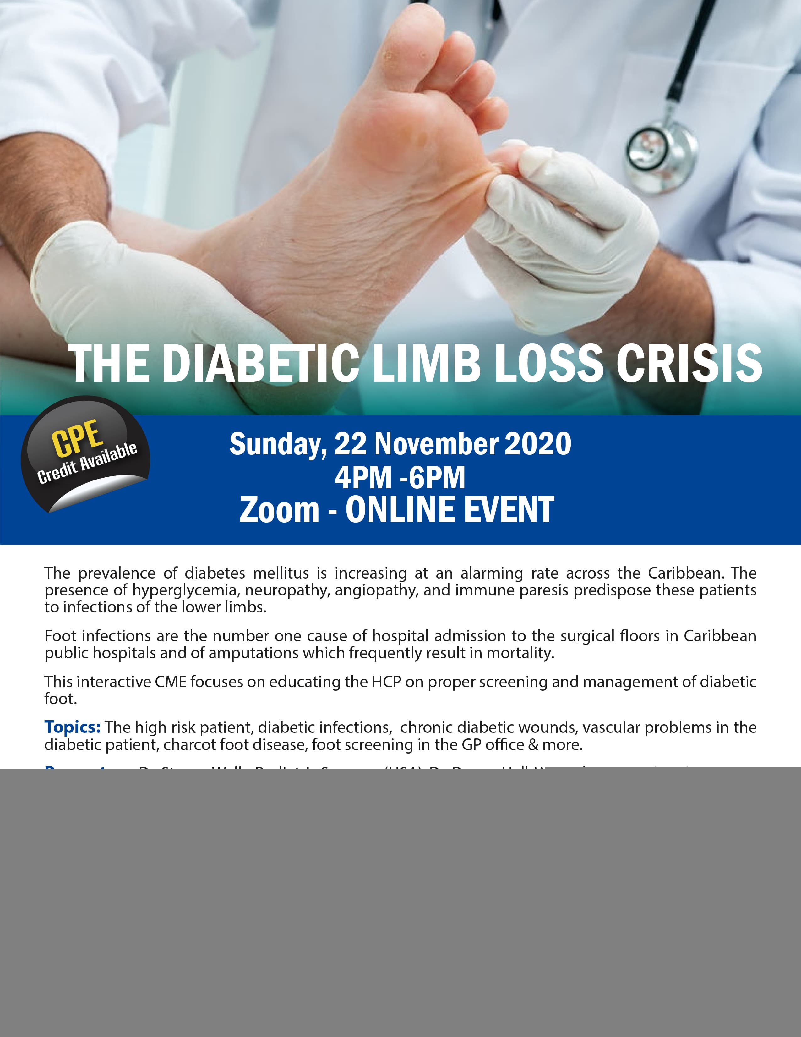 Diabetic Limb Loss Crisis