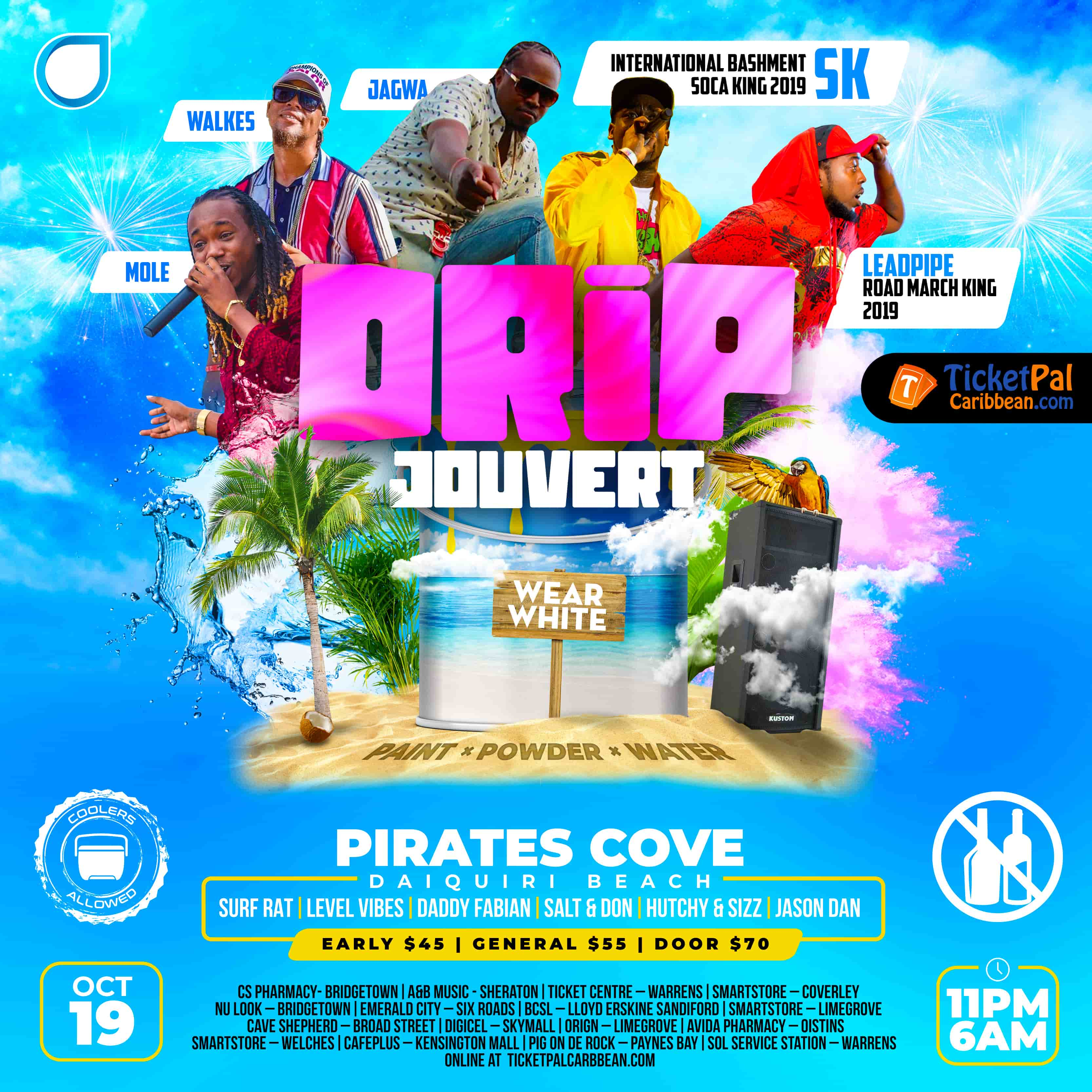 Drip Jouvert - Refunds only