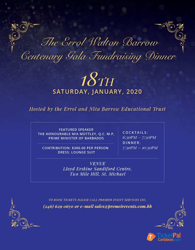 Errol Walton Barrow Centenary Gala Dinner