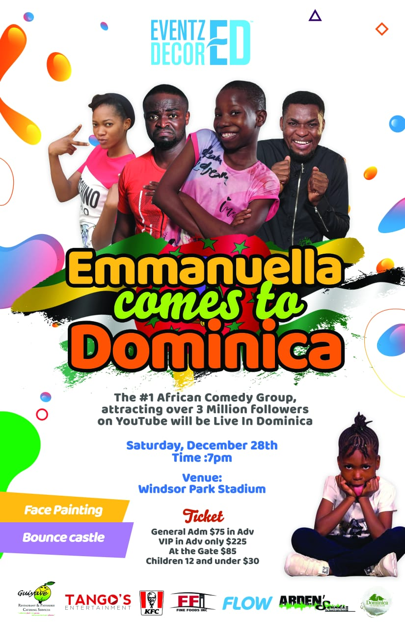 Emanuella comes to Dominica