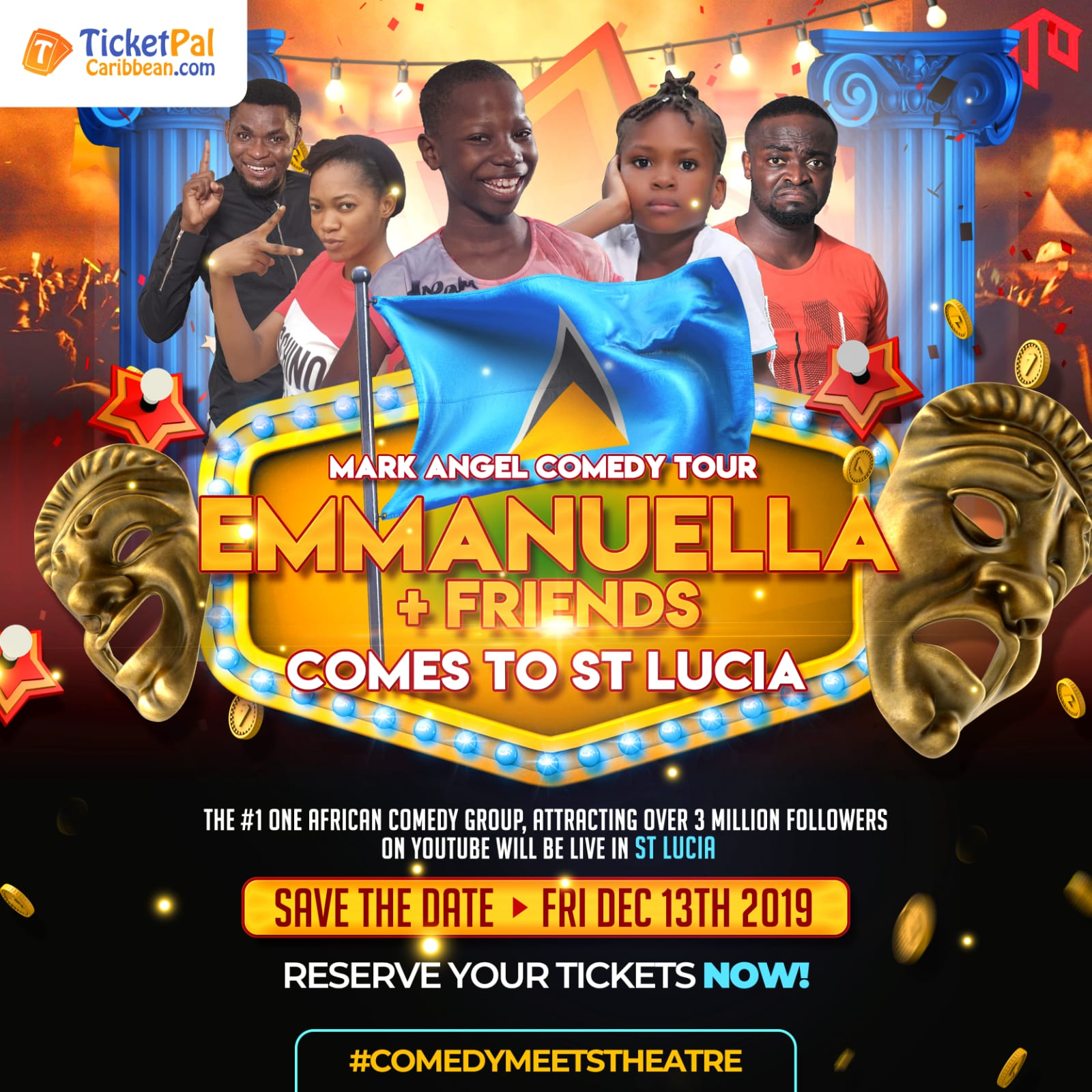 Emanuella & Friends Comes to St. Lucia