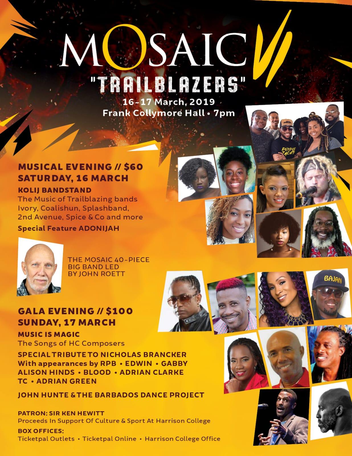 Mosaic VI: Trailblazers (Gala)