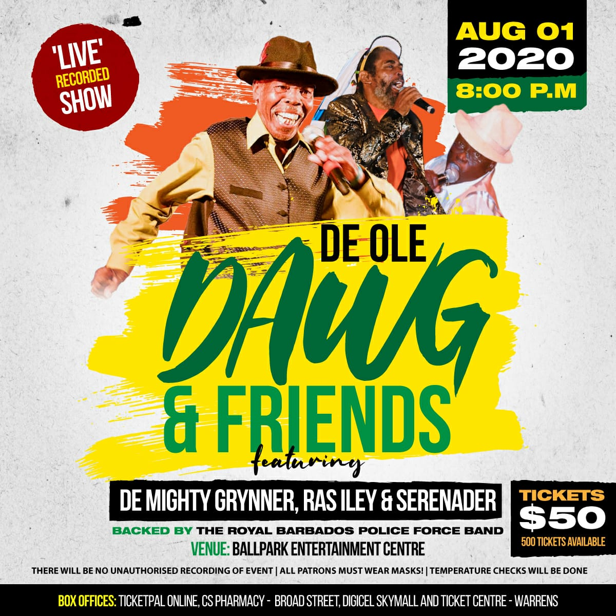 DE OLE DAWG AND FRIENDS (PARTY)