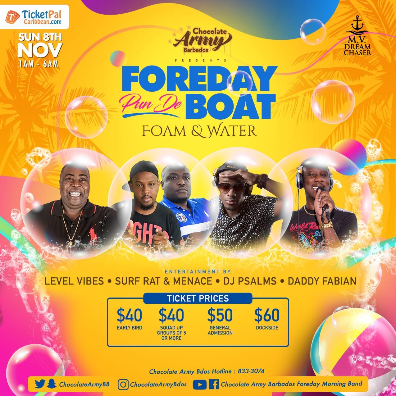 Foreday Pun De Boat