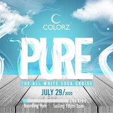COLORZ - PURE - ALL WHITE SOCA CRUISE