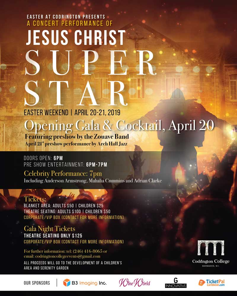 Easter at Codrington: Jesus Christ Superstar in Concert