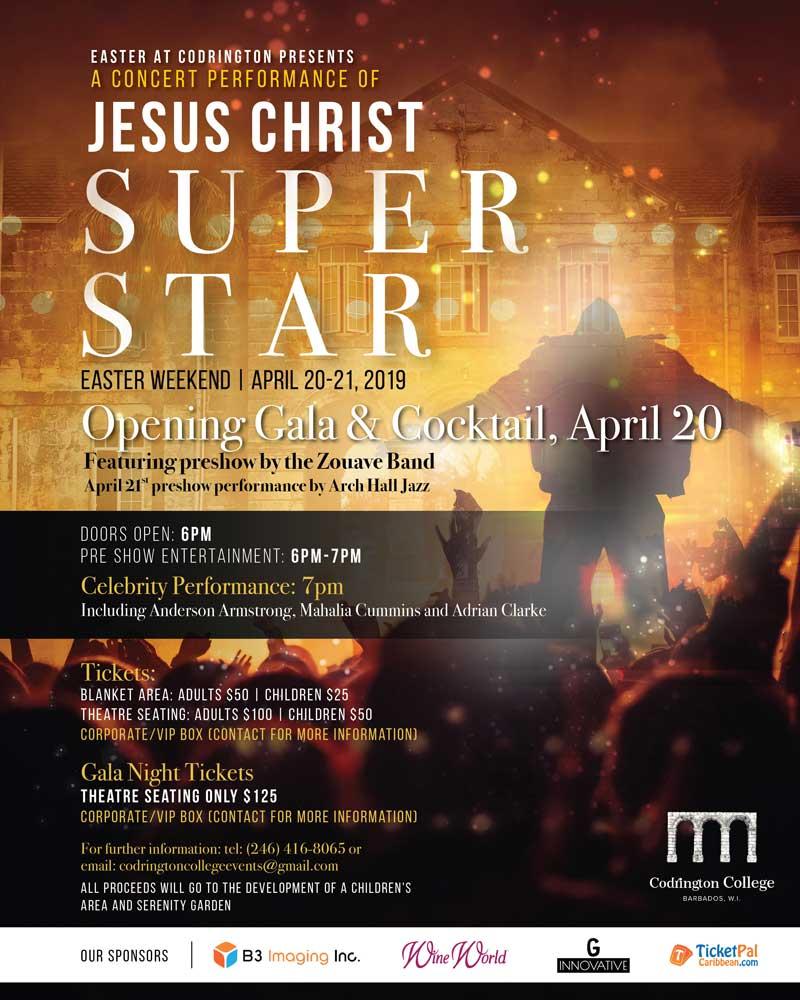Easter at Codrington: Jesus Christ Superstar in Concert - Gala Night