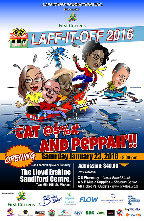 Laff-It-Off Cat@$%# And Peppah - First in Line (Show 11)