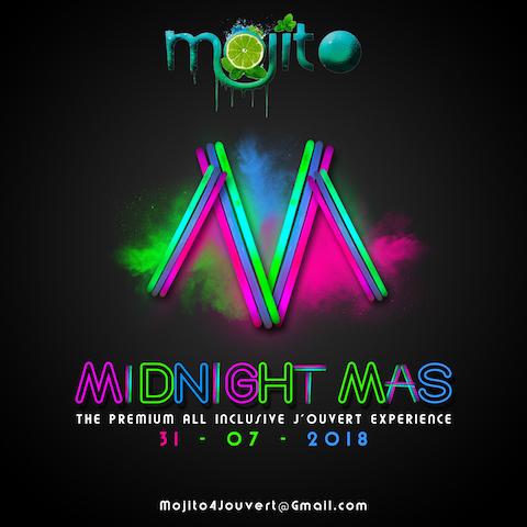 Mojito Midnight Mas  (Crop Over 2018)