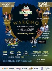 Naniki Barbados Music Festival 2018 - Day 1