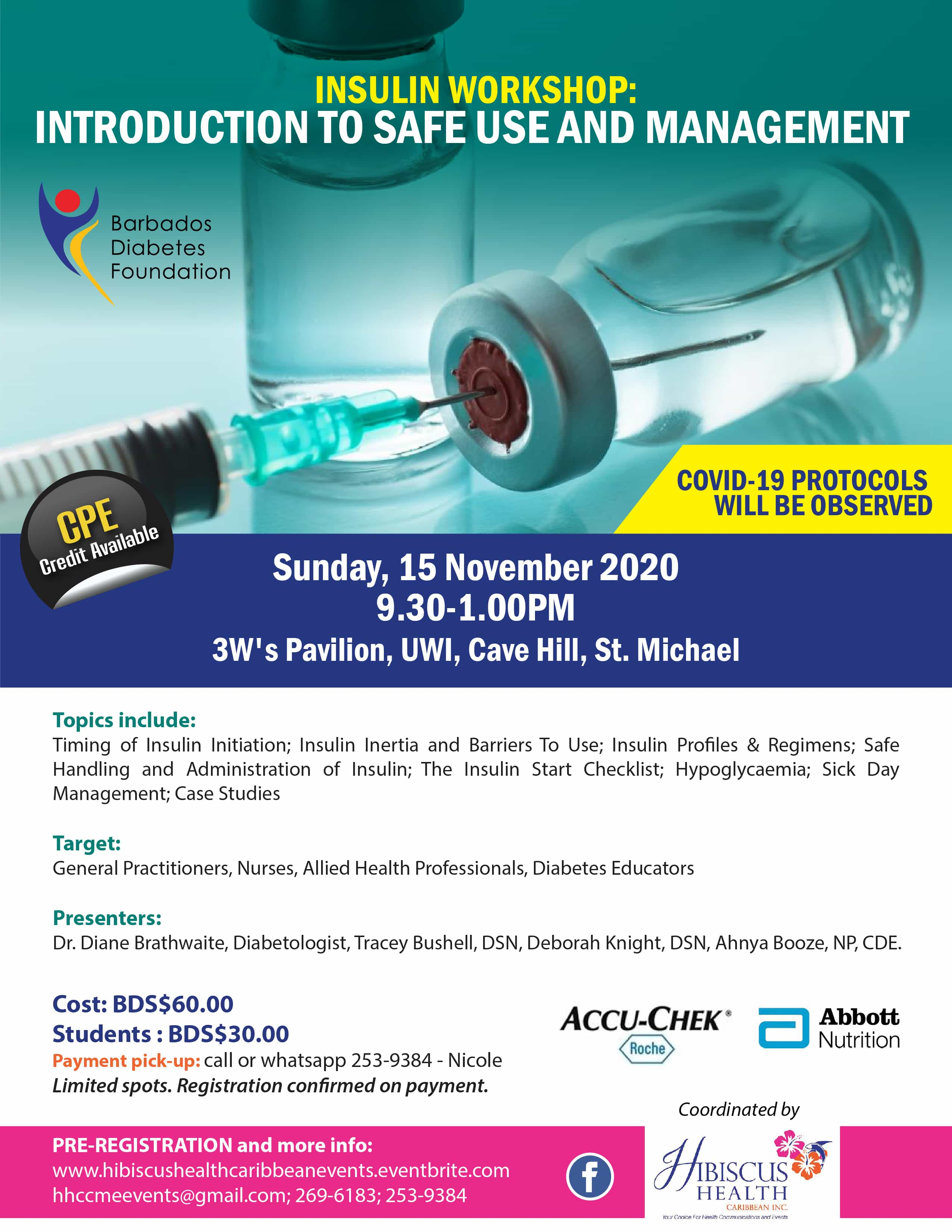 Introduction to Insulin Workshop