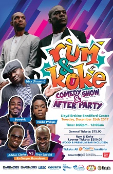 Rum & Koke Comedy Show & After Party