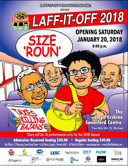 Laff it off 2018 - Size Roun ( Show 3)