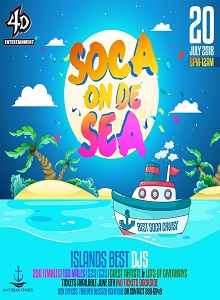 Soca on de seas 2018