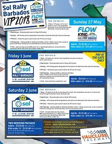 SOL Rally Barbados 2018 - VIP