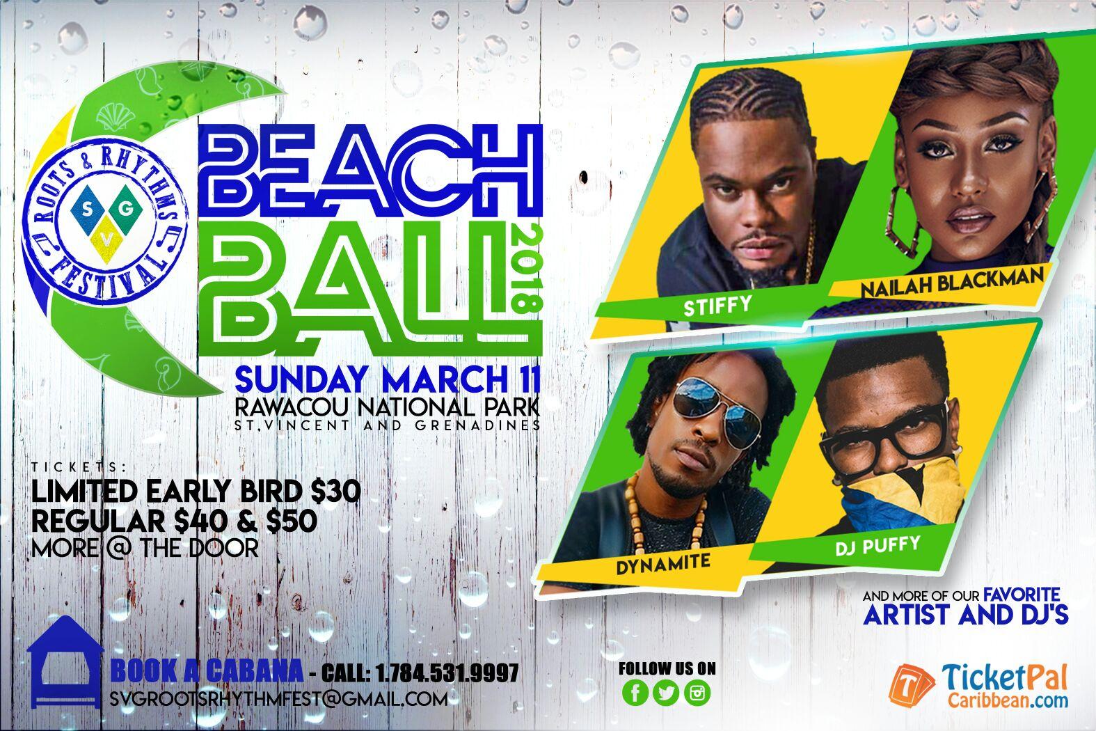 Roots & Rhythms Festival 2018 - Beach Ball
