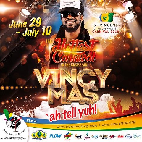 Vincy Mas - Soca Monarch Semi Finals
