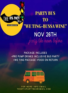 The Epic Party Bus