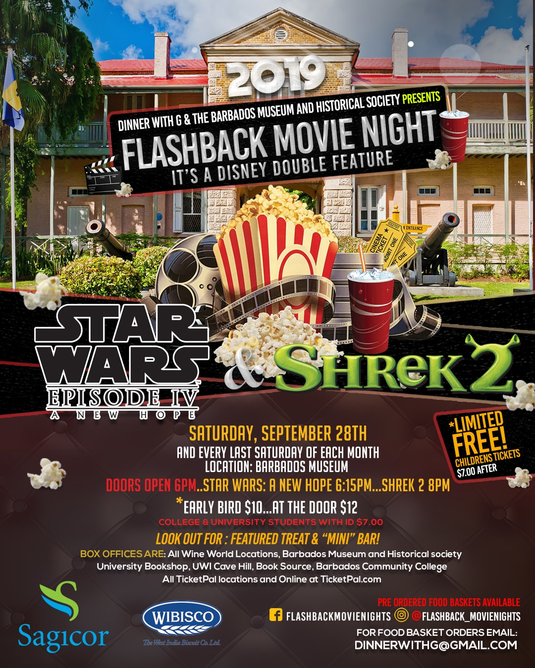 Flashback Movie - Star Wars: A New Hope 1977 & Shrek 2