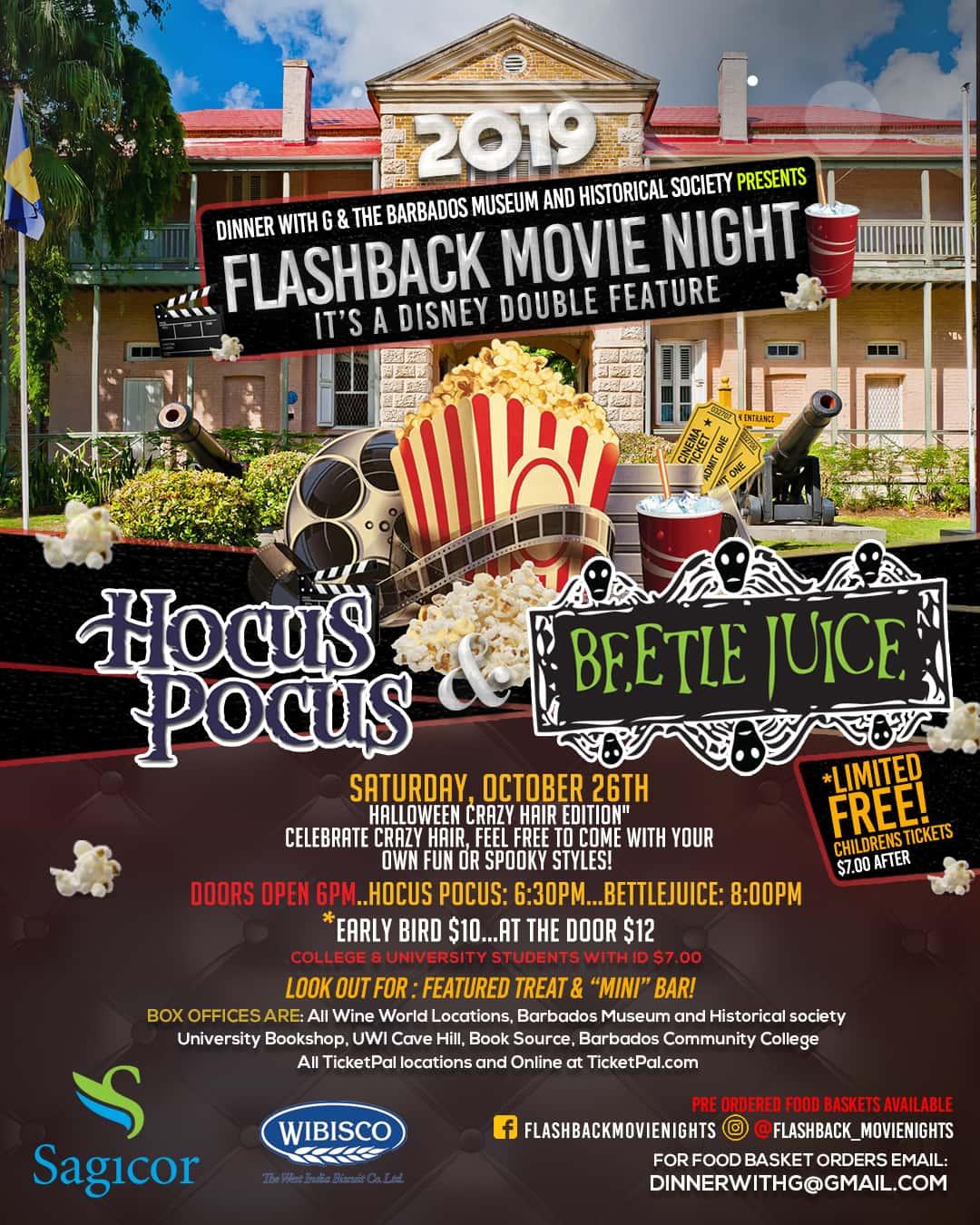 Flashback Movie - Hocus Pocus 1993 & Beetle Juice 1988