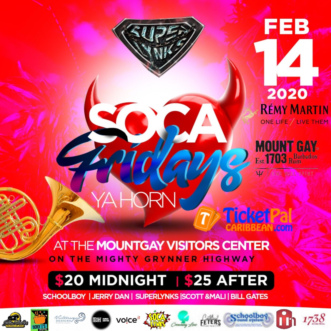 Soca Fridays - Ya horn
