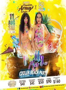 Pretty Mas Cooler Beach Party