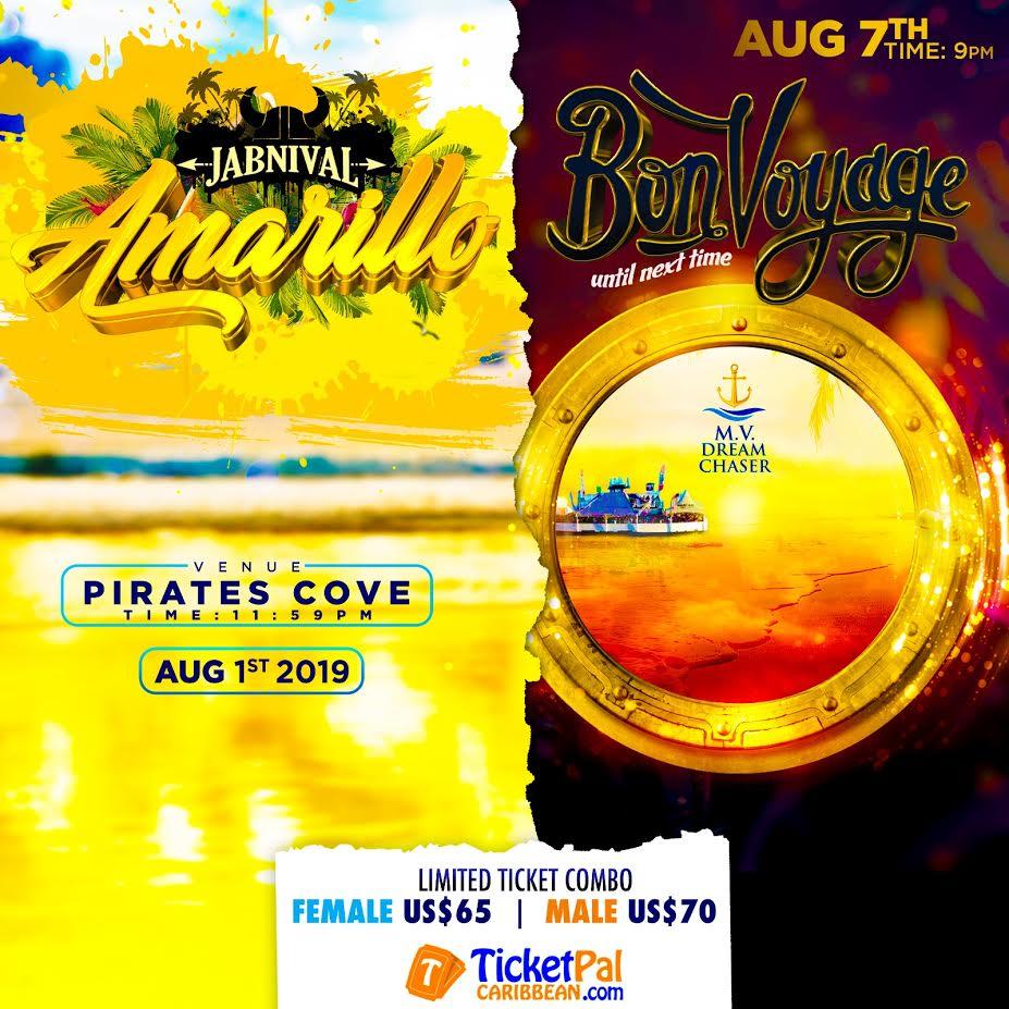 Ticketpal Caribbean Inc  - BONVOYAGE/JABNIVAL COMBO 2019