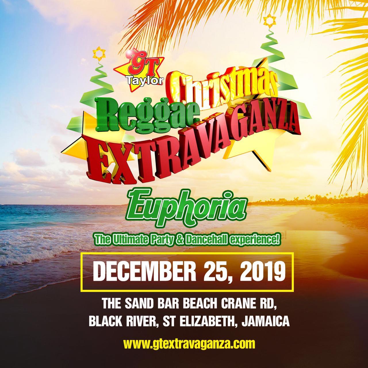 GT Taylor Reggae Christmas Extravaganza 2019