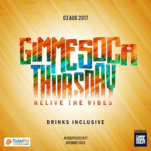Gimme Soca Thursday - First in Line