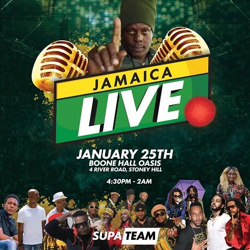 JAMAICA LIVE - Stoney Hill